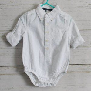 White Button Down Shirt NWT